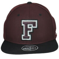 NCAA Zephyr Fordham Rams Flat Bill Snapback Adjustable Hat Cap Adult Maroon