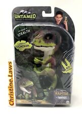 Fingerlings Raptor STEALTH Green Dinosaur Velociraptor WowWee Untamed Fingerling