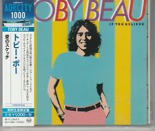 If You Believe [Remaster] by Toby Beau Japan Import New And Sealed