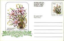"Südafrika Karten-Ganzsache Flowers Motive 1979 Serie Blumen 8 C Homeland ""VENDA"""