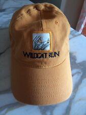 Wildcat run Golf Country Club Baseball Cap Hat
