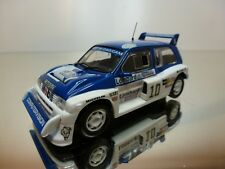 IXO ALTAYA MG METRO 6R4 - LOMBARD RALLY #10 - BLUE + WHITE 1:43 - EXCELLENT - 20