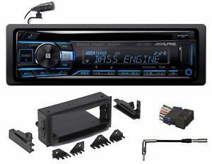 ALPINE Bluetooth CD Player USB/AUX SiriusXM For 99-02 Chevy Silverado 3500