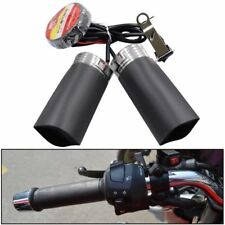 New Motorcycle 25W Throttle Pads Heated Grip Handlebars ATV Scooter Grips Heater