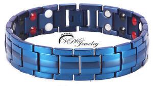 VPKJewelry 4 elements Titanium Magnet Therapy Bracelet Bangle Adjuster New