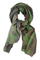 Furla  Schal  grün Modal Kaschmir  140 cm x 140 cm