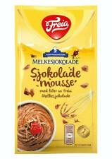 Freia Chocolate Mousse w. Bits of Norwegian Milk Chocolate 100g Packet