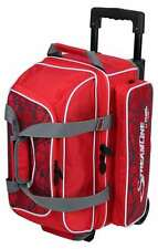 Storm Streamline 2 Ball Double Roller Bowling Bag Red Crackle