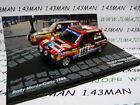 RIT18 1/43 IXO Altaya Rallye : TALBOT SAMBA Rallye F.Delecour Monte Carlo 1984