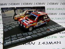 voiture 1/43 IXO Altaya Rallye : TALBOT SAMBA Rallye F.Delecour Monte Carlo 1984