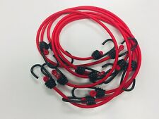 Bungee Cord Strap,Tarp, Elastic Tie Down,Blue, Black, Red, Green, Camo, 6 cords