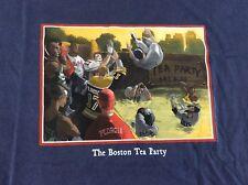 New listing Boston Tea Party Shirt Mens Size XL Red Sox Bruins Celtics Patriots Ortiz Brady