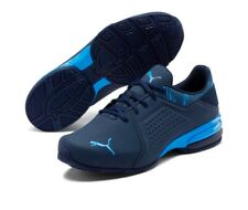 Puma Viz Runner Graphic Men's Sneakers Shoe Running Navy/Royal Blue 194218-02