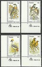 Transkei Sudafrika Fauna Kuckuck Kapbatis Kronenkranich Dorfweber Vogel ** 1980