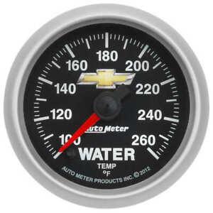 "AUT880446 Autometer 880446 Chevy Gold Bowtie Water Temperature Gauge, 2-1/16"","