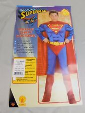 Superman Boy's Muscle Chest Halloween Costume Child Size 8-10 Medium #5682