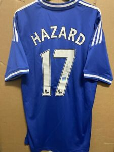 Signed Eden Hazard Chelsea FC shirt  With coa