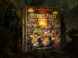 RPG - D&D Heroes' Feast The Official Dungeons and Dragons Cookbook NEW!