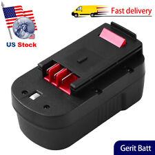 For Black and Decker 18v Battery HPB18 HPB18-OPE 244760-00 FSB18 A18 FEB18 3.6Ah