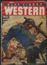 Blue Ribbon Western 1946 June.     Pulp