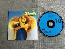 Blondie Atomic / Die Young Stay Pretty / Heroes (Live)  CD Single Card Sleeve