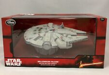 Disney Store Star Wars Die Cast Millenium Falcon Millenium Vehicle Diecast - New