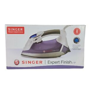 SINGER Expert Finish Iron EF Anti-Drip Stainless Steel Soleplate LED Display
