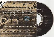 JIMMY PAGE ROBERT PLANT gallows pole CD SINGLE france french card sleeve led zep
