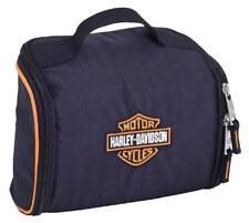 Harley-Davidson Bar   Shield Fabric Toiletry Bag - Black 99610 5ed7bee173bd8