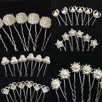 Party/ Wedding /Bridal /Crystal Hair Pins /Clips Bridesmaid hair accessories