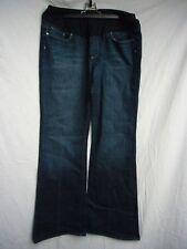 Paige Maternity Laurel Canyon Dark Wash Jeans Size 32 x 32