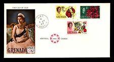 Grenada 1967 QEII Issue FDC (I) - L9115