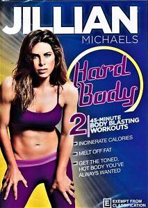 JILLIAN MICHAELS: Hard Body DVD HEALTH EXERCISE FITNESS BRAND NEW RELEASE R0