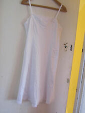Vintage M&S White Petticoat in Size 14