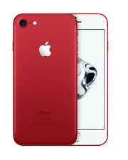 Téléphones mobiles rouges Apple iPhone 7