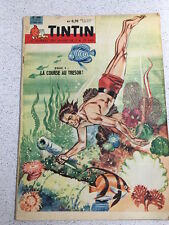 TINTIN  N°646 13e ANNEE 9 MARS 1961 REVUE MAGAZINE VINTAGE