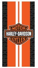 Harley Davidson Racing Stripes Wonder Beach Towel