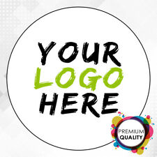 More details for logo printed round stickers - custom logo labels - postage labels -personalised
