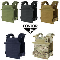 Condor 201042 MOLLE Modular SAPI Tactical Lightweight Sentry Plate Carrier Vest