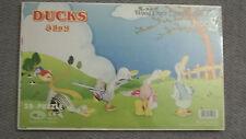 Four Ducks Wooden Puzzle  100 Pieces Age 6+