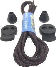 Lock Laces elástico Shoelaces 3 Mm De Ancho - 100 Cm De Largo - 40 opciones-Uk libre envío!