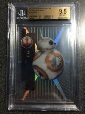 BB-8 #110 2015 Topps Star Wars High Tek Pattern 5 TIE Fighter Wing BGS 9.5 Gem