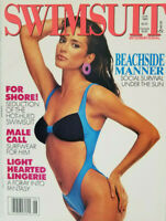 Swimsuit International Magazine June 1989 - Sexy Lingerie Fantasy - No Label NM