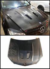 Carbon Bonnet Fit For 08-11 Mercedes Benz W204 C63 Sedan Coupe Black Series Hood