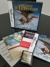 Final Fantasy: The 4 Heroes of Light (Nintendo DS)  Complete