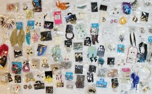 100 New Department Store Earring Lot Wholesale Closeout High $$ Value #100EAR
