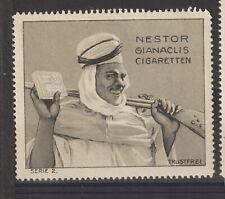 German Poster Stamp Cigarettes Artist Trustfrei