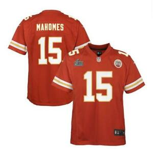 Patrick Mahomes Kansas City Chiefs Red Nike SBLIV Patch Game Jersey
