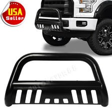 For 04-18 Ford F150 Black Stainless S/S Bull Bar Push Brush Bumper Grille Guard
