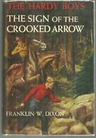 Sign of the Crooked Arrow by Franklin Dixon Hardy Boys #28 1st ed Dust Jacket